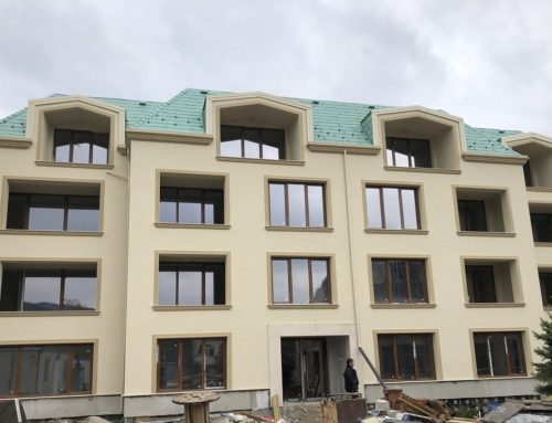 """""""Residential Buildings №1 and №2 with underground garages in the district of Dragalevtsi in the town of Sofia"""""""